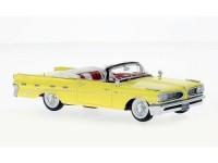 1:43 PONTIAC Bonneville Convertible 1959 Yellow/White