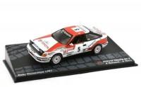 1:43 TOYOTA Celica GT-Four #5 A.Schwarz/A.Hertz победитель Rally Catalunya 1991