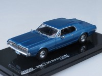 1:43 Mercury Cougar Blue