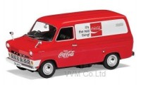 "1:43 FORD Transit Mk.I ""Coca Cola"" 1970 Red/White"