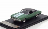 1:43 CHEVROLET Chevelle SS 1970 Metallic Green/Black
