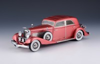 1:43 DUESENBERG J 365/2385 Queen of Diamonds Franay Sports Berline Sedan 1933 Light Maroon Metallic