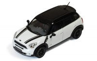 1:43 MINI COOPER S COUNTRYMAN (кроссовер 4х4) 2010 White&Black
