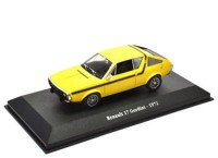 1:43 RENAULT 17 Gordini 1972 Yellow