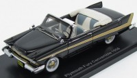 1:43 PLYMOUTH Fury Convertible 1958 Black