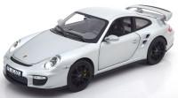 1:43 PORSCHE 911 GT2 (997) 2007 Silver