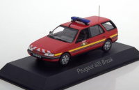 "1:43 PEUGEOT 405 Break ""Pompiers"" (пожарный) 1991"