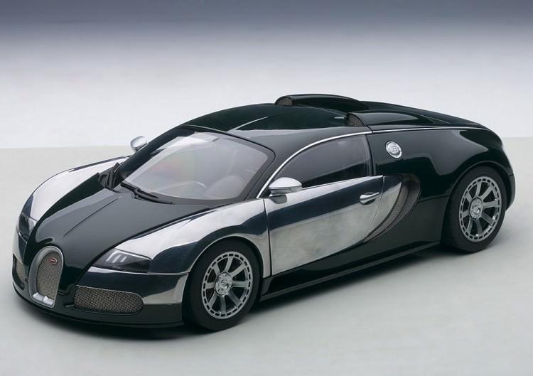 1:18 Bugatti EB Veyron 16.4 L'Edition Centenaire 2009 Malcolm Cambell (racing green)