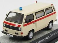 """1:43 Volkswagen T3a """"Red Cross"""" (скорая медицинская помощь) 1982"""