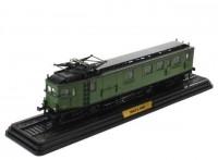 1:87 SNCF-4004 (L'AUTOMOTRICE AE1 A' 7 PO) (VERSION SNCF Z.4000) 1904 Green