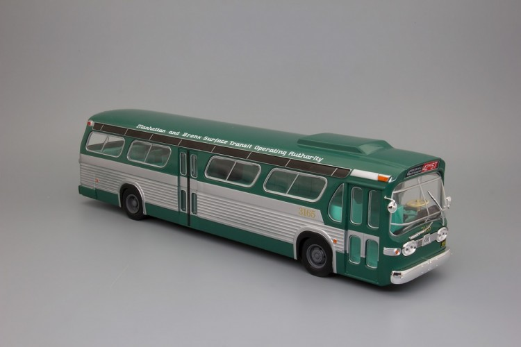 "1:43 автобус GENERAL MOTORS TDH-5301 NEW LOOK ""FISHBOWL"" USA 1965 Green"