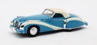 1:43 TALBOT-LAGO T26 GS Cabriolet Saoutchik #110110 (закрытый) 1948 Blue