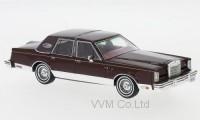 1:43 LINCOLN Continental Mk VI Signature Series 1980 Metallic Dark Red