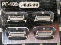 1:43 набор фототравления дверные ручки Горький 3105