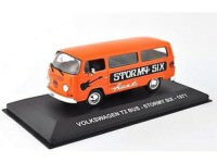"1:43 VOLKSWAGEN T2 BUS ""STORMY SIX"" 1971 Red"
