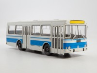 1:43 ЛАЗ-4202, серый / голубой