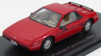 1:43 PONTIAC Fiero 2M4 1984 Red