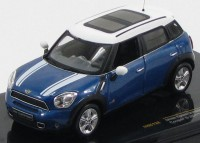 1:43 MINI COOPER S COUNTRYMAN (кроссовер 4х4) 2010 Blue&White