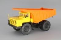 1:43 БелАЗ-7510 самосвал-углевоз, желтый / оранжевый