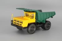 1:43 БелАЗ-7522 карьерный самосвал, желтый / зеленый