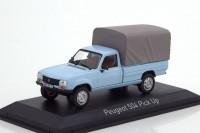 1:43 PEUGEOT 504 Pick-Up 4x4 с тентом 1985 Clear Blue