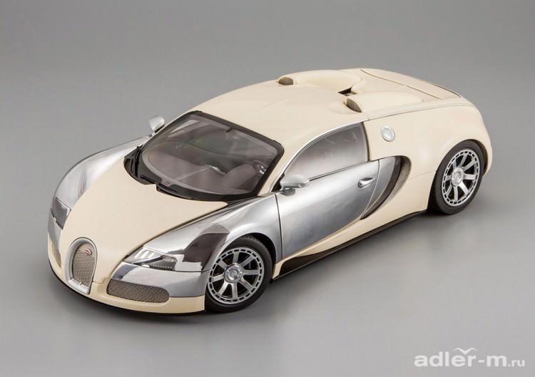 1:18 Bugatti EB Veyron 16.4 L'Edition Centenaire 2009 Hermann Zu Leiningen (white)