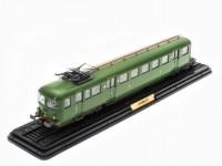 1:87 Z-4702 (1) (L'AUTOMOTRICE Z-4702 SNCF) (1° élément) 1948 Green