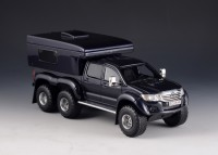 1:43 TOYOTA Hilux AT44 6x6 Arctic Truck RV Version 2014 Dark Blue Metallic