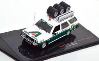 "1:43 FIAT 131 Panorama техничка ""Fiat Alitalia Team"" с багажником и колесами на крыше 1979"