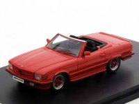 1:43 MERCEDES-BENZ 500SL AMG (R107) Roadster 1980 Red