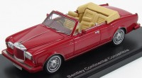 1:43 BENTLEY Continental Convertible 1985 Red