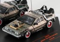 """1:43 DeLorean DMC12 """"Back to Future 3"""" (из к/ф""""Назад в будущее 3"""") 1990"""