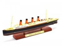 """1:1250 Британский трансатлантический лайнер RMS """"LUSITANIA"""" 1906 (модель 25см)"""