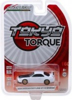 1:64 NISSAN Skyline GT-R (BNR34) V-Spec II 2001 White with Z-Tune Hood