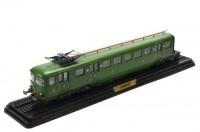 1:87 Z-4702 (2) (L'AUTOMOTRICE Z-4702 SNCF) (2° élément) 1948 Green