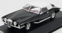 1:43 Stutz Blackhawk Convertible with Hardtop 1971 (black / white)