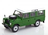 1:24 LAND ROVER Series III 109 4х4 1980 Green
