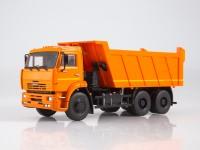 1:43 КАМский грузовик-6520 самосвал, оранжевый