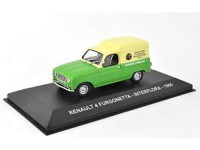 "1:43 RENAULT 4 FURGONETTA ""INTERFLORA"" 1966 Green/Yellow"
