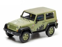 1:43 JEEP Wrangler 4х4 U.S.Army Limited Edition (Hard Top) 2012 Light Green