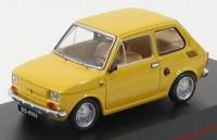 1:43 POLSKI FIAT 126P (Maluch) 1973 Light Yellow