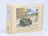 1:43 Сборная модель ЛАЗ-690, 1955 г