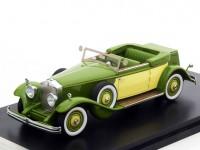 1:43 ROLLS ROYCE Phantom II Croydon Victoria by Brewster (открытый)) 1932 Green/ Yellow