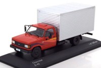 1:43 CHEVROLET D-40 (фургон) 1985 Red/Silver