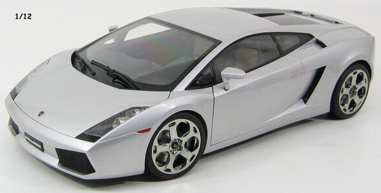 1:12 Lamborghini Gallardo 2002 (metallic silver)