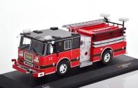 "1:43 SEAGRAVE Marauder II ""Pelham Fire Department"" 2007 Red/Black"