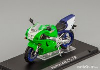1:24 Kawasaki ZX -7R (green / blue / white)