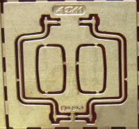 1:43 набор фототравления зеркала для МАЗ 5433