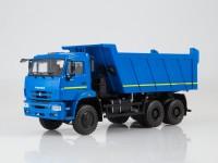1:43 КАМский грузовик-6522 самосвал, синий