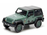 1:43 JEEP Wrangler 4х4 U.S.Army Limited Edition (с тентом) 2012 Dark Green